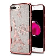 Tuff Lite Quicksand Glitter Case for iPhone 8 Plus / 7 Plus / 6S Plus / 6 Plus - Eiffel Tower