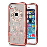 Tuff Lite Quicksand Electroplating Case for iPhone SE / 5S / 5 - Dreamcatcher