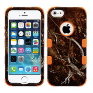 Military Grade Certified TUFF Image Hybrid Case for iPhone SE / 5S / 5 - Tree Camouflage
