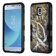 Military Grade Certified TUFF Image Hybrid Armor Case for Samsung Galaxy J3 (2018) - Tree Camouflage 015