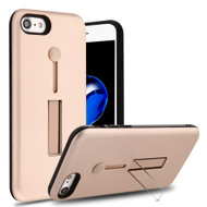 Finger Loop Case with Kickstand for  iPhone 8  / 7 - Rose Gold