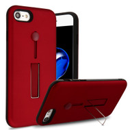 Finger Loop Case with Kickstand for  iPhone 8  / 7 - Red