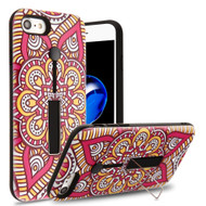 *Sale* Finger Loop Case with Kickstand for  iPhone 8  / 7 - Mandala Blossom