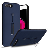 *Sale* Finger Loop Case with Kickstand for  iPhone 8 Plus / 7 Plus - Navy Blue