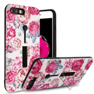 Finger Loop Case with Kickstand for  iPhone 8 Plus / 7 Plus - Victorian Flower