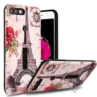 Finger Loop Case with Kickstand for  iPhone 8 Plus / 7 Plus - Paris Memory