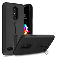 *Sale* Finger Loop Case with Kickstand for LG K30 - Black