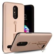 *Sale* Finger Loop Case with Kickstand for LG K30 - Rose Gold