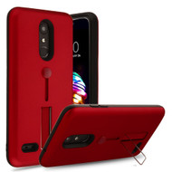 *Sale* Finger Loop Case with Kickstand for LG K30 - Red
