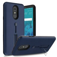 *Sale* Finger Loop Case with Kickstand for LG Stylo 4 - Navy Blue
