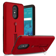*Sale* Finger Loop Case with Kickstand for LG Stylo 4 - Red