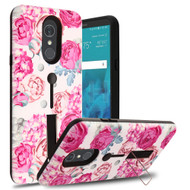 *Sale* Finger Loop Case with Kickstand for LG Stylo 4 - Victorian Flower