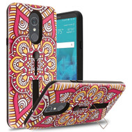 Finger Loop Case with Kickstand for LG Stylo 4 - Mandala Blossom