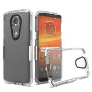 Transparent Protective Bumper Case for Motorola Moto E5 Plus - White