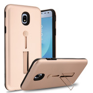 *Sale* Finger Loop Case with Kickstand for Samsung Galaxy J3 (2018) - Rose Gold