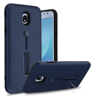*Sale* Finger Loop Case with Kickstand for Samsung Galaxy J3 (2018) - Navy Blue