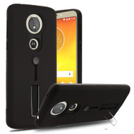 Finger Loop Case with Kickstand for Motorola Moto E5 Plus - Black