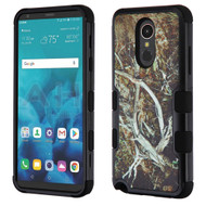 Military Grade Certified TUFF Hybrid Armor Case for LG Stylo 4 - Tree Camouflage