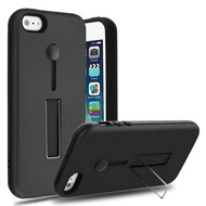 Finger Loop Case with Kickstand for iPhone SE / 5S / 5 - Black