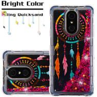 Tuff Lite Quicksand Case for LG Stylo 4 - Dreamcatcher Hot Pink