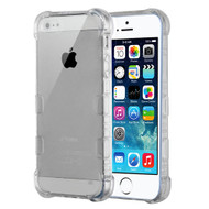 TUFF Klarity Premium Transparent Anti-Shock TPU Case for iPhone SE / 5S / 5 - Clear