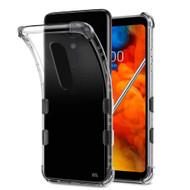 TUFF Klarity Premium Transparent Anti-Shock TPU Case for LG Stylo 4 - Clear