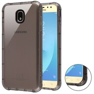 Air Sacs Transparent Anti-Shock TPU Case for Samsung Galaxy J7 (2018) - Smoke