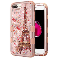 Military Grade Certified TUFF Diamond Hybrid Armor Case for iPhone 8 Plus / 7 Plus / 6S Plus / 6 Plus - Paris in Full Bloom