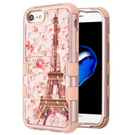 Military Grade Certified TUFF Diamond Hybrid Armor Case for iPhone 8 / 7 / 6S / 6 - Paris in Full Bloom