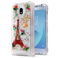 Tuff Lite Quicksand Case for Samsung Galaxy J3 (2018) - Paris Monarch Butterflies