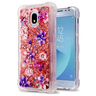 Tuff Lite Quicksand Case for Samsung Galaxy J3 (2018) - Purple Stargazers