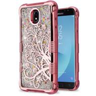 Tuff Lite Quicksand Electroplating Case for Samsung Galaxy J7 (2018) - Maple Vine