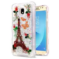 Tuff Lite Quicksand Case for Samsung Galaxy J7 (2018) - Paris Monarch Butterflies