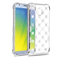 TUFF Klarity Electroplating Transparent Anti-Shock TPU Diamond Case for Samsung Galaxy J3 (2018) - Cosmos Sparks