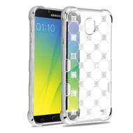TUFF Klarity Electroplating Transparent Anti-Shock TPU Diamond Case for Samsung Galaxy J7 (2018) - Cosmos Sparks