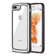Tough Shield Snap-on Transparent Case for iPhone 8 Plus / 7 Plus - White