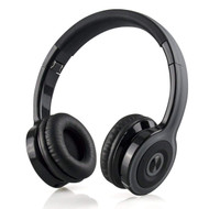 Classic On-Ear Folding Bluetooth V4.2 Wireless Headphones with Microphone - Black