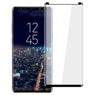 3D Curved Full Coverage Tempered Glass Screen Protector for Samsung Galaxy Note 9 - Black