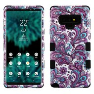 Military Grade Certified TUFF Image Hybrid Armor Case for Samsung Galaxy Note 9 - Persian Paisley