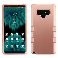 Military Grade Certified TUFF Hybrid Armor Case for Samsung Galaxy Note 9 - Rose Gold