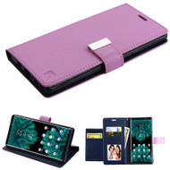 Essential Leather Wallet Stand Case for Samsung Galaxy Note 9 - Purple