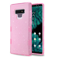 Tuff Full Glitter Hybrid Protective Case for Samsung Galaxy Note 9 - Pink