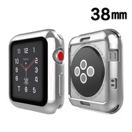 Electroplating Bumper Case for Apple Watch 38mm - Silver