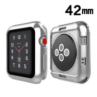 Electroplating Bumper Case for Apple Watch 42mm - Silver