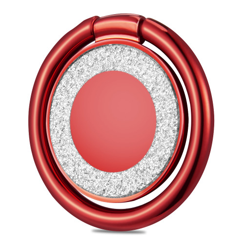 Smart Loop Universal Smartphone Holder & Stand - Crystal Bling Red