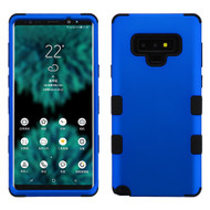 Military Grade Certified TUFF Hybrid Armor Case for Samsung Galaxy Note 9 - Blue 005
