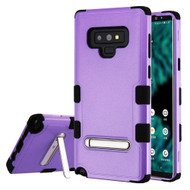 Military Grade Certified TUFF Hybrid Armor Case with Stand for Samsung Galaxy Note 9 - Purple