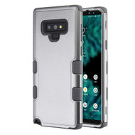Military Grade Certified TUFF Hybrid Armor Case for Samsung Galaxy Note 9 - Grey 407