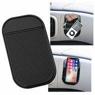 Non-Slip Mat Universal Accessory Holder - Black