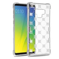 TUFF Klarity Electroplating Transparent Anti-Shock TPU Diamond Case for Samsung Galaxy Note 9 - Cosmos Sparks
